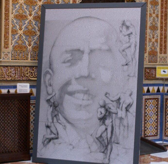 Mural para una exposición de Joan Castejón